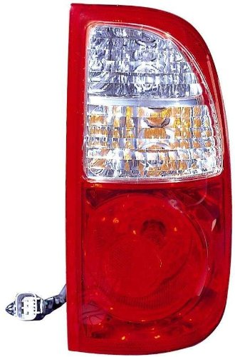 Depo 312-1968R-AS Passenger Side Replacement Taillight Assembly For 05-06 Toyota Tundra Only (For Regular and Access Cab)