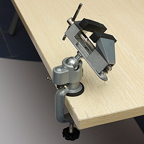 Manual Tools Clamping Tools - Professional Vises Bench Swivel Vise With Clamp 3 inch Table Top Vise