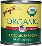 Giorgio Mushrooms, Sliced, Organic, 4-Ounce (Pack of 12)