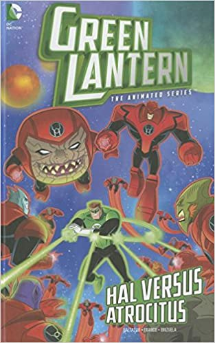 Hal Versus Atrocitus (Green Lantern: The Animated Series)