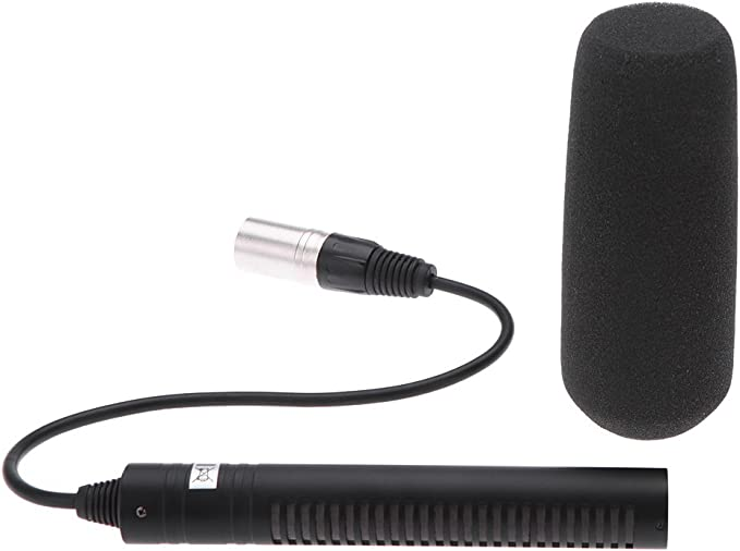 Andoer Professional Microphone for Sony PD190P HVR-Z1C HVR-A1C HVR-V1C DSR-PD150P DSR-250 Panasonic AJ-D700MP AJ-D410MC AJ-D615MC AJ-D908MC 180