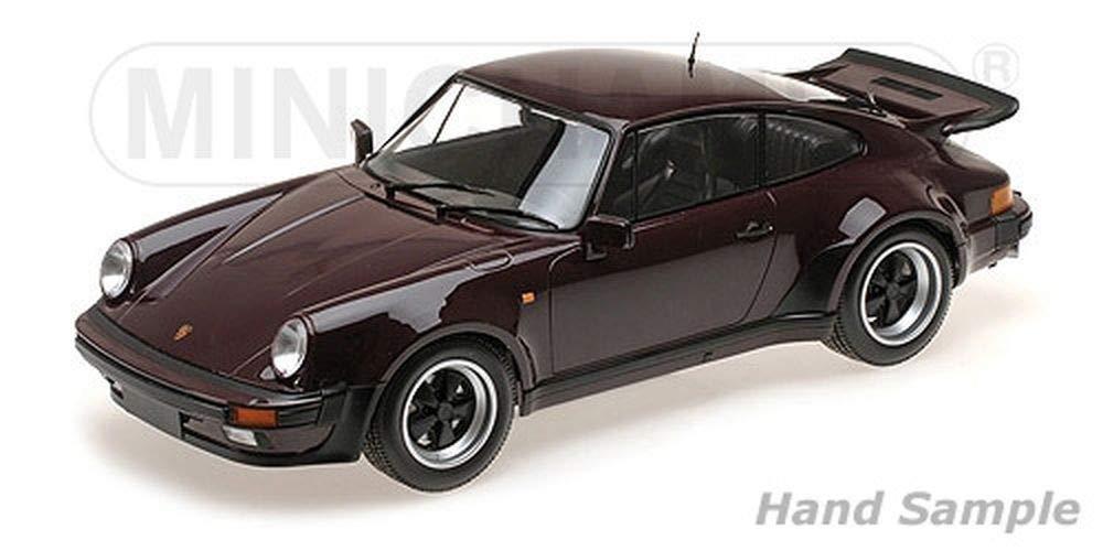 Minichamps 125066116 1: 12 1977 Porsche 911 Turbo Modell, violett