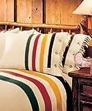 Woolrich Hudson's Bay Pillow Shams Blanket (Red)
