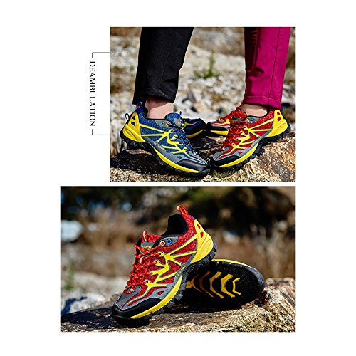 Sneakers Fall Mujer Alpinismo Escalada Aire Camping para Spring Comfort Libre Informal Zapatos Viajes D Mesh Trekking de al el HIqxzYB