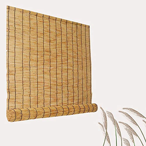 (YUANJJ Shade Blinds,Reed Curtain Grass Curtain, Bamboo Curtain, Dustproof, Used for Partition, Outdoor/Indoor (120x180cm))