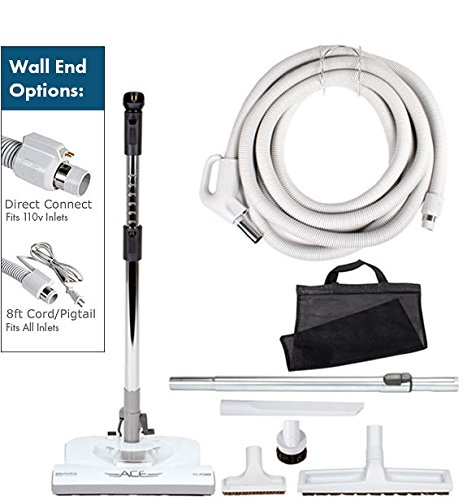 35 Ft Ace Electric Central Vacuum Kit — Direct Connect