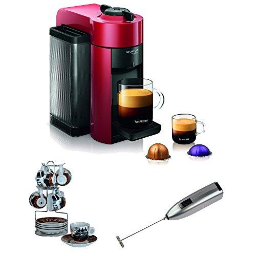 Nespresso GCC1-US-RE-NE VertuoLine Evoluo Coffee and Espress