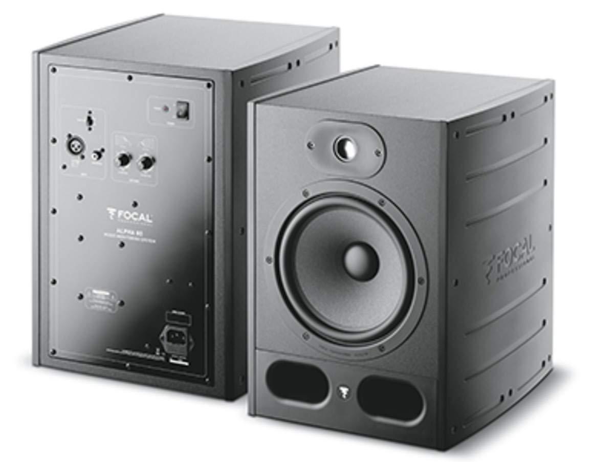 Focal: Alpha 80 Professional Monitoring Loudspeaker (Pair)