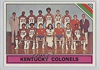 Kentucky Colonels (ABA) Team (Basketball Card) 1975-76 Topps #323