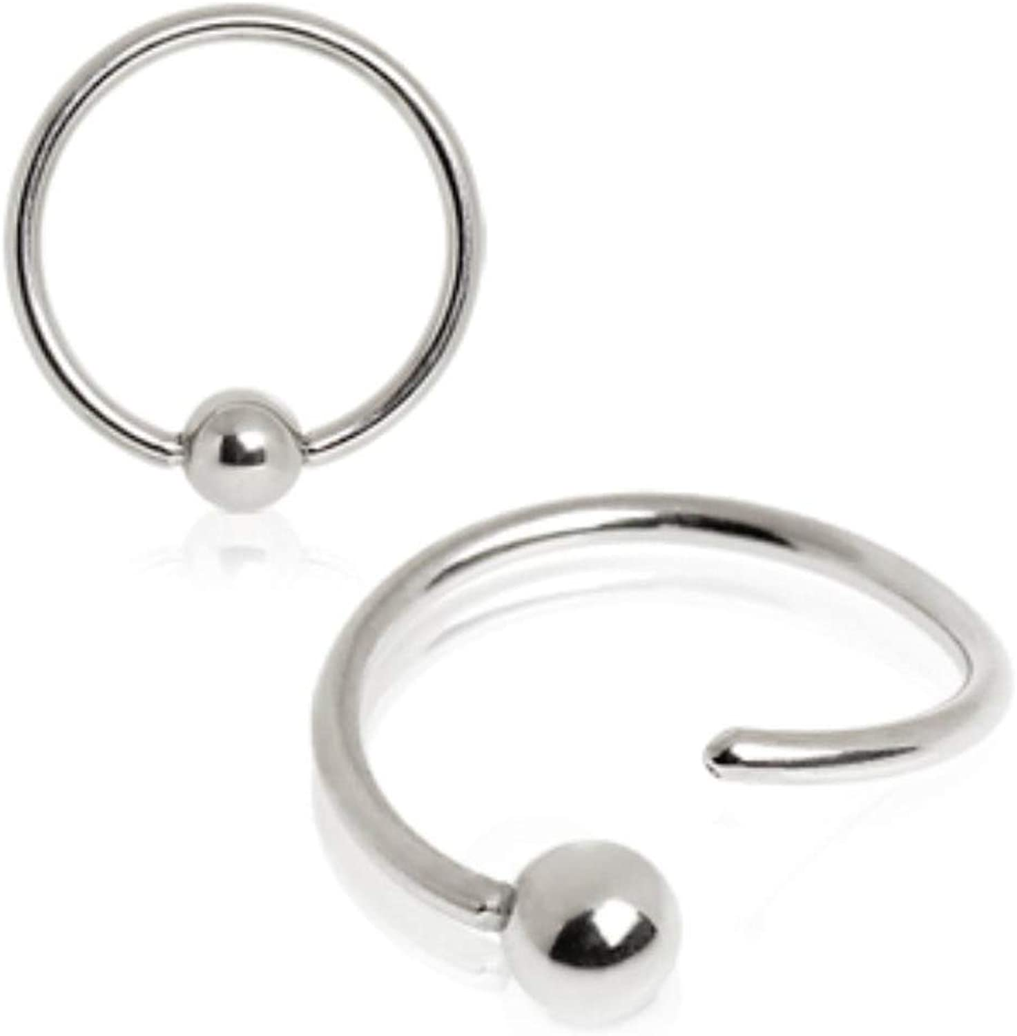 Butterfly Eyebrow Daith Helix Ear Nose Lip Captive Bead Ring Body Jewelry 16g