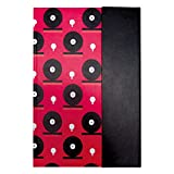 /Graphics Editor ly009 Notebook A5 Black Circles on Pink Background