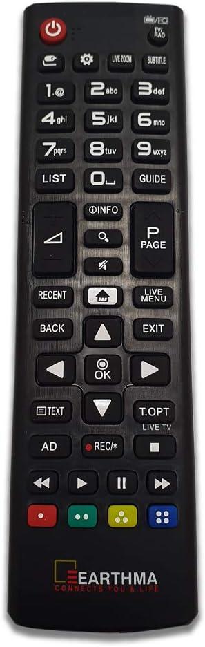 Mando a distancia universal para LG Smart 3D LED LCD HDTV TV, mando a distancia LG Smart TV: Amazon.es: Electrónica
