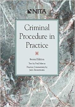 Book Criminal Procedure in Practice by Paul Marcus (2003-03-04)