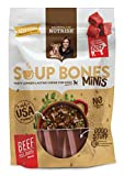 Rachael Ray Nutrish Soup Bones Minis Dog Treats, Real Beef & Barley Flavor, 6 Bones, 4.2 oz, Pack of 8