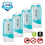 segrewall Bug Zapper, [2018 Upgrade] Mosquito Killer Electric Gnat Zapper Mosquito Zapper Gnat Zapper – Protects Up to 200 Sq Ft/Bug and Fly Killer, Mosquito Trap – For Residential and Commercial Use