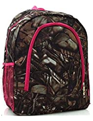 NGILS Boys Girls Western Camo School Work Camp Backpack