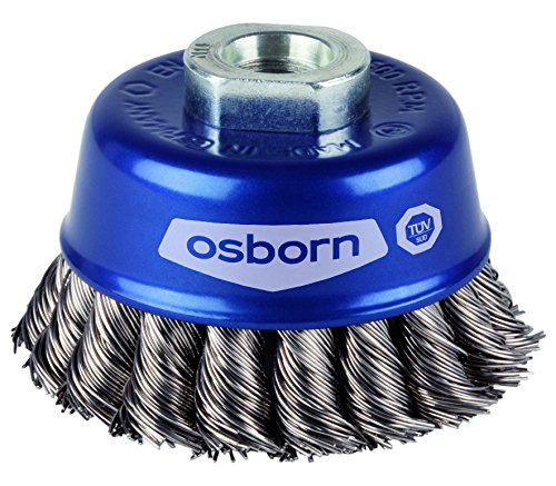 Osborn –  Cepillo para amoladora angular 115 mm, 1 pieza, 6802608131 1pieza Osborn International GmbH