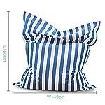 WanuigH-Bean-Bag-Divano-Poltrona-Letto-for-Piscina-di-Campeggio-Esterna-Lazy-Bag-Nuvola-Divano-Leggero-e-Mobile-Piccolo-Divano-Colore-Blu