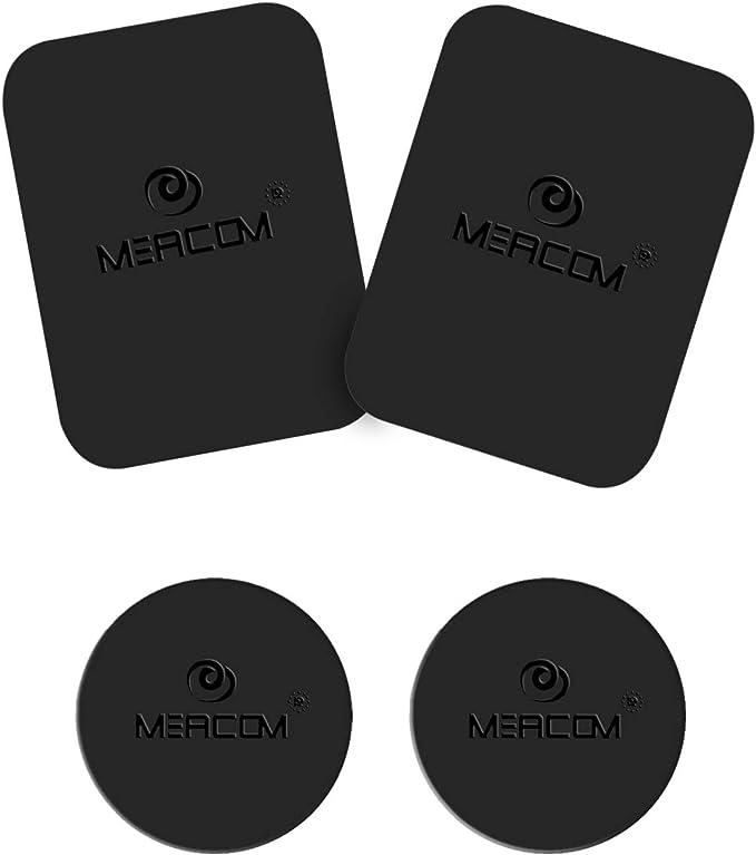 Meacom Metallplättchen Set 4 Stück Handy Halterung Amazon De Elektronik