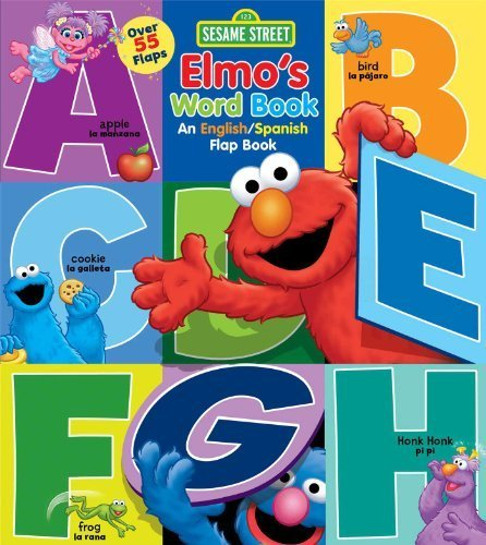 Sesame Street: Elmos Word Book: An English/Spanish Flap Book (Lift-the-Flap) (Spanish Edition) by Sesame Street, Froeb, Lori C. (2014) Board book: ...