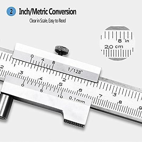 jiguoor 150/mm ELECTRONIC DIGITAL Messschieber Electronic Micrometer Mess-Werkzeug Edelstahl Bremssattel /& Vernier Gauge