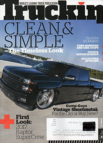 Truckin Vol 42 No 6 April 21 2016 Magazine WORLD'S LEADING TRUCK PUBLICATION Vintage Sheetmetal: Fix The Old Or Buy (All Pro Off Road)