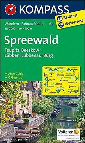 Karte Spreewald Lubbenau.Spreewald Teupitz Beeskow Lubben Lubbenau Burg