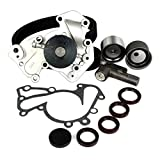 DNJ Timing Belt Kit with Water Pump & Hydraulic Tensioner TBK136WP for 1999-2010 Hyundai Kia 2.5L 2.7L V6 24V DOHC