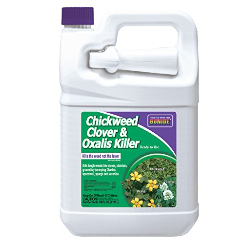 Bonide (BND0613) - Ready to Use Chickweed, Clover and Oxalis Weed Killer (1 gal.) (Best Weed Killer To Kill Creeping Charlie)