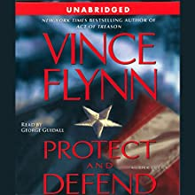 Protect and Defend: Mitch Rapp, Book 8 Audiobook by Vince Flynn Narrated by George Guidall