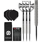 Red Dragon Rebels Tungsten Steel Darts with Flights, Shafts, Wallet & Red Dragon Checkout Card