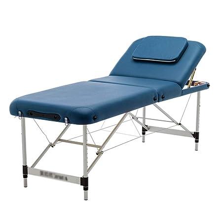 LJHA Mesa de masaje plegable Cama de fisioterapia de moxibustión ...