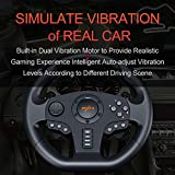 Gaming Racing Wheel Driving Wheel Volante PC , PXN