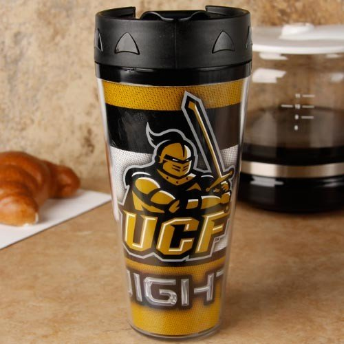WinCraft NCAA University of Central Florida 36774013 Travel Mug Contour, 16 oz by WinCraft