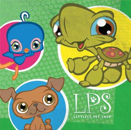 Littlest Pet Shop Large Napkins (16ct) ()