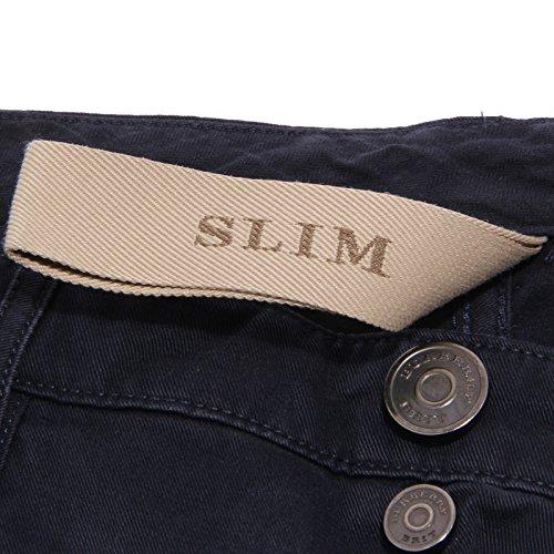 Uomo Jeans Pantalone Men Brit Blu Trouser Burberry 2146w Blue Cotton 7qOC74w