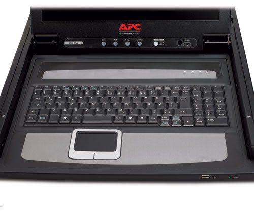 Rackmount 17IN LCD Console (Discontinued by Manufacturer) by APC