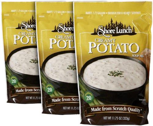 Shore Lunch Creamy Potato Soup Mix, 11.75 oz, 3 pk