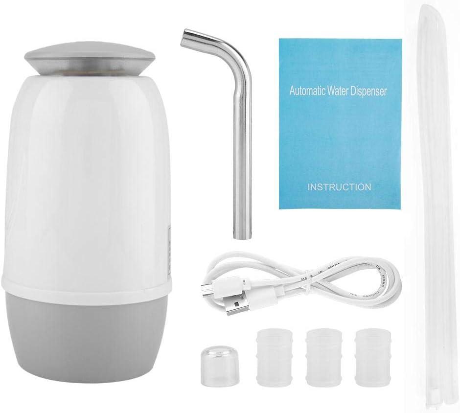 Dispensador Eléctrico de la Bomba de Agua Dual de Beber en Botella Recargable Portátil del USB para al Aire Libre Casero: Amazon.es: Hogar