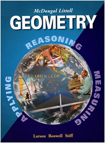 Amazon geometry grades 9 12 mcdougal littell high school math amazon geometry grades 9 12 mcdougal littell high school math mcdougal littell high geometry 9780618250226 ron larson laurie boswell fandeluxe Choice Image