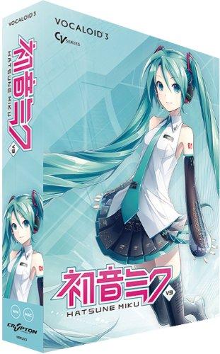 Vocaloid3 Hatsune Miku V3