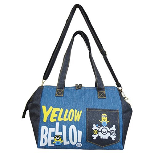 Toy Denim Bag (MINION Purse Bag/Two-Color Denim Style (B) [109731])