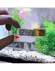 ZARQ Termómetro de Acuario, termómetro Digital LCD de Temperatura de Tanque