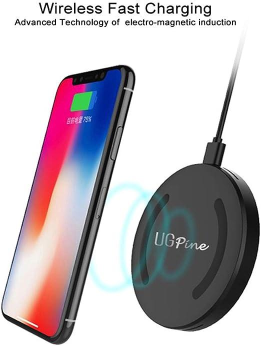 Mengen88 Cargador sin Hilos QI certificó el Smartphone 10W ayuna ...