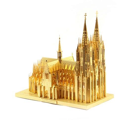MQKZ DE ologne Cathedral 3D Tridimensional Rompecabezas de ...