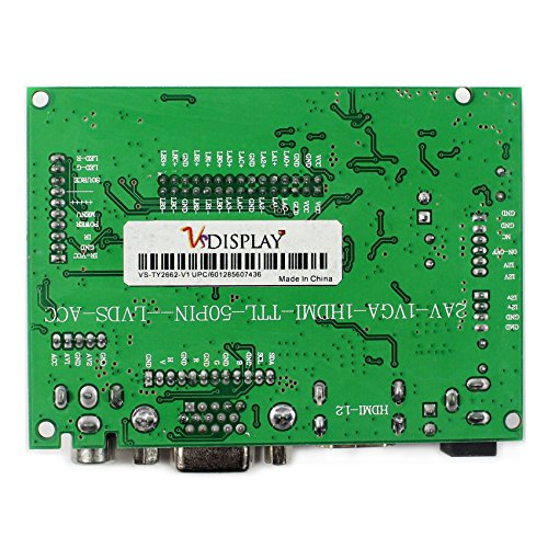 VSDISPLAY HDMI+VGA+2AV LCD Controller Board Work For 15.4'' 17'' CLAA154WP05 B170PW03 1440x900 1CCFL 30Pin LCD Panel by VSDISPLAY (Image #4)
