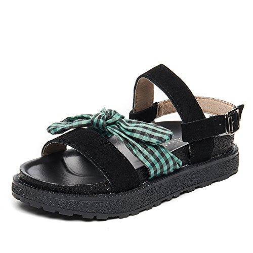 SOHOEOS Neue Sandalen für Frauen Damen Sommer Sommer Sommer Vintage Junge Studenten Flache Mädchen Rom Plattform Damen 7e36e2
