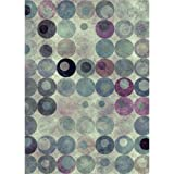 Printed Photography Background Abstract circle background Backdrops Modern Titanium Cloth TC7997 10'x20' Ft (120''x240'') Backdrop Better Then Muslin or Canvas