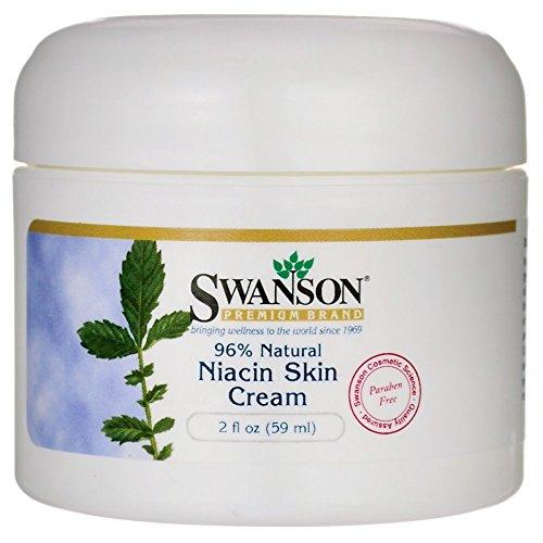 Swanson Niacin Skin Cream 2 fl Ounce (59 ml) Cream