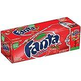 Fanta Strawberry 12 oz. (355 mL) - 24 Pack